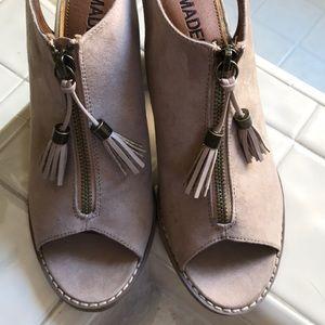 Madeline Girl peep-toe booties